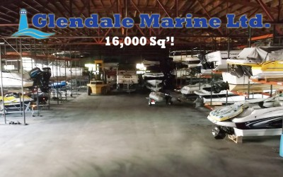 Glendale Marine Boat Storage on Lake Winnipesaukee