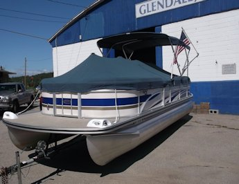 2008 Harris Flotebote Classic 240